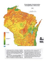 Wisconsin Gis Maps by Wisconsin Geological U0026 Natural History Survey Groundwater