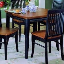 Cherry And Black Dining Table Foter - Black dining table with cherry top