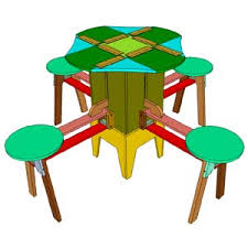 the eizzy mini folding table is a folding patio table pdf plan