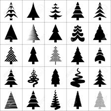 christmas tree outline stock photos royalty free christmas tree
