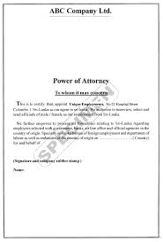 Bank Power Of Attorney Form by Demand Letter Sample