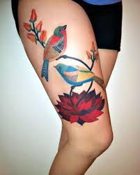 Flower And Bird Tattoo - 366 best tattoos images on pinterest tatoos awesome tattoos and