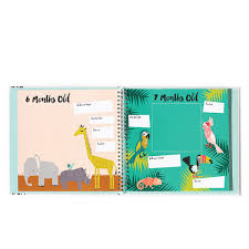 baby 1st year book creative baby memory books from