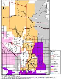 Glendale Arizona Map by Municipalities Overview