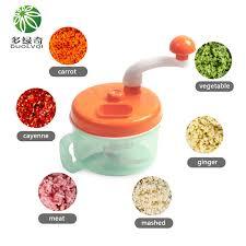 hachoir de cuisine duolvqi multifonctionnel légumes viande cutter ronde spirale légumes