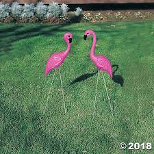 flamingo yard ornaments