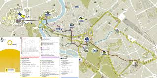 Vatican City Map Hop On Hop Off Rome Lines Overview Instant Booking Rome