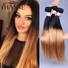 honey brown hair with blonde ombre hannehair