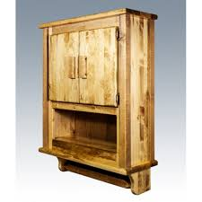 country rustic hanging wall cabinets cupboards rustic bathroom