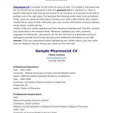 cv tips pharmacist resume tips 57 pharmacists cv exles in lancashire