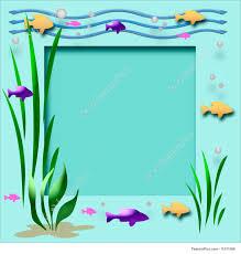 aquarium frame illustration