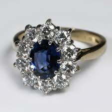 nice big rings images Big sapphire wedding rings wedding rings ideas jpg