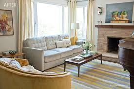 Vintage Livingroom Before U0026 After A Vintage Modern Living Room Reveal Relocated