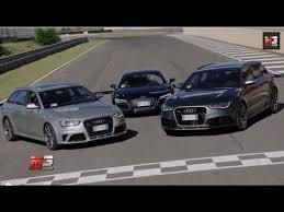 audi rs6 vs audi r8 coupe vs audi rs6 avant vs audi rs4 avant test drive