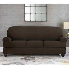 sofa slipcovers with individual cushion covers fitted sofa slipcover ebay
