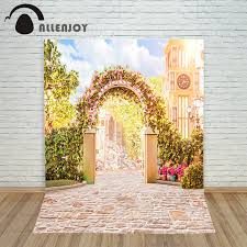 wedding backdrop garden aliexpress buy custom size backdrops wedding studio decor
