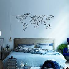sticker wall decor picture more detailed picture about map of