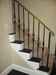 wrought iron stair railing kits home decor 6922