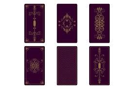 vector ornament for tarot cards textures creative market