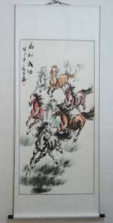 online get cheap chinese horse watercolor aliexpress com
