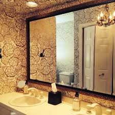 wallpapered bathrooms ideas 122 best oh for hygge west images on wallpaper