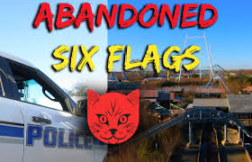 Jazzland Six Flags How Not To Get Caught By The Cops At The Abandoned Six Flags New