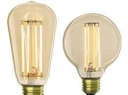 led lights that mimic the look of vintage edison bulbs