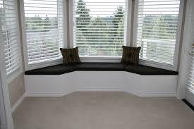 Kitchen Bay Window Treatments Bay Window Seat Ideas Bay Window Bench In Kitchen Home Design