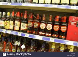 Mix Southern Comfort With Miami Beach Florida Walgreens Liquor Store Shelves Retail Display
