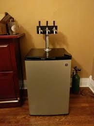 Kegregator Recently Added A Diy Tower To My Mini Fridge Kegerator It Turn