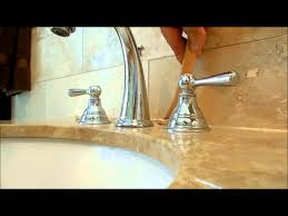 how to fix and re caulk a bathroom counter top come sistemare