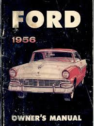 1956 ford owner u0027s manual