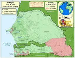 Senegal Map Senegal Worldmap Org