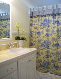 Country Bathroom Shower Curtains 10 Best Images Of Small Bathroom Ideas Yellow And Blue White And