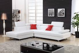 White Leather Living Room Furniture Sofa White Sofa Set Small White White