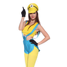 Minion Womens Halloween Costume Minions Halloween Costume
