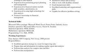 entry level data analyst resume writing resume sample writing