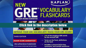 free download kaplan new gre vocabulary flashcards kaplan for
