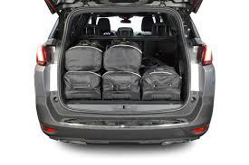 peugeot sport car 2017 car bags travel bag sets peugeot 5008 ii 2017 present car bags