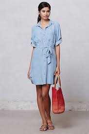 Pierre Dress Anthropologie Top 10 Summer Dresses Chambray Anthropologie And Chambray Dress
