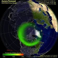 northern lights location map northern lights to be visible in britain due to rare magnetic storm