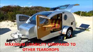 teardrop trailer camping on assategue island youtube
