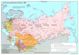 map of ussr large detailed administrative divisions map of soviet union 1989