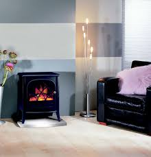 ritz 2kw portable electric fire with optiflame log effect