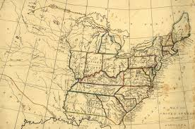 United States Map With Cities And Towns by Maps Of 19th Century America