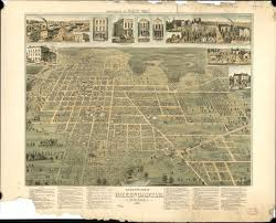 Map Of Downtown Indianapolis Historic House Research Guide Indiana Landmarks