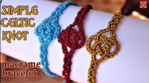 bracelet knots youtube images Macrame simple celtic knot bracelet tutorial easy and elegant jpg