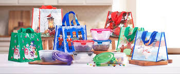 qvc set of 6 lock lock bowls with gift bags only