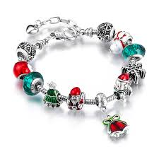 beaded bracelet with pearls images Authentic silver crystal beads bracelet for women and girls jpg