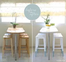 Small Kitchen Tables And Chairs For Small Spaces by Dining Room Outstanding Stylish White Bar Stool Kitchen Table